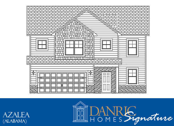 Azalea Floor Plans Danric Homes