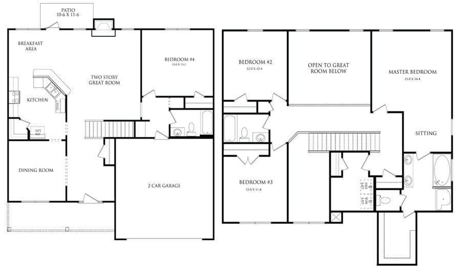 Magnolia floor plans danric homes - Magnolia homes floor plans ...