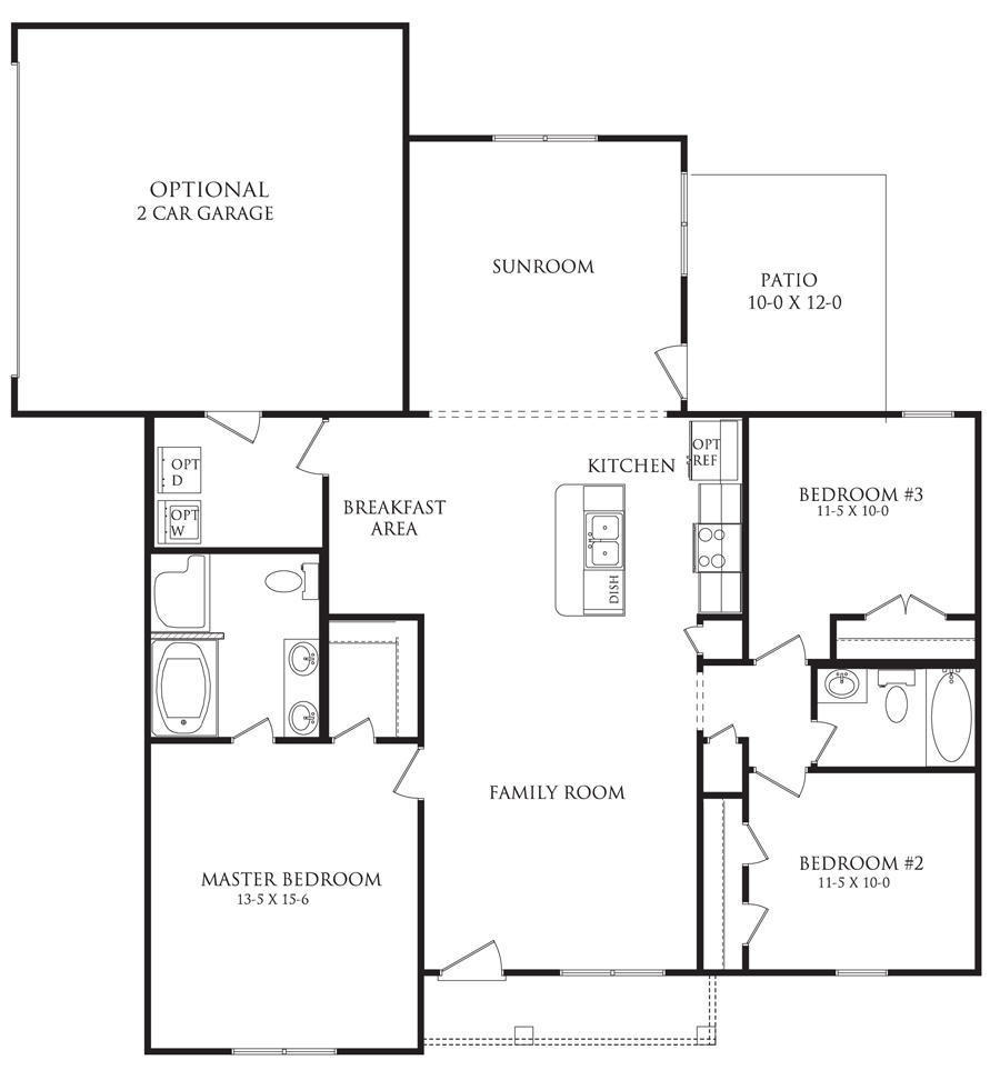 Berkshire Floor Plans Danric Homes
