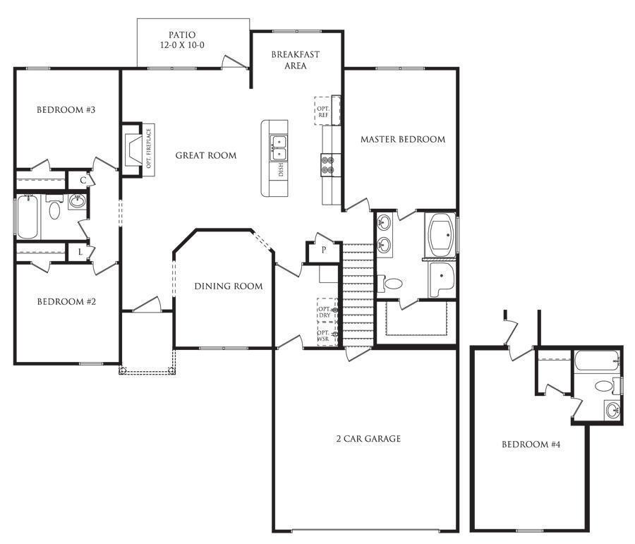 belmonte floor plans danric homes