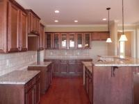 Custom kitchen in DanRic Home at Cameron Pointe